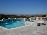 Aqua Dream swimming pool gallery pool and masonry shot