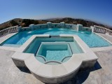 Aqua Dream swimming pool gallery closeup of hot tub