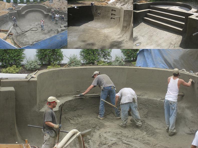 Swimming Pool Construction Process Aqua Dream Pools