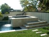 Aqua Dream swimming pool gallery sideview of formal pool hot tub