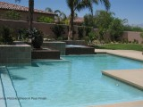 Aqua Dream swimming pool gallery formal pool with different sections