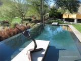 Aqua Dream swimming pool gallery pool with statue