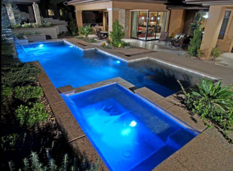 Formal Pools Designed And Constructed By Aqua Dream Pools