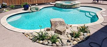 Swimming pool by Aqua Dream Pools - swimming pool builder Lodi California