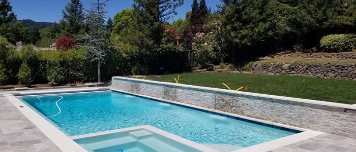 Geometric Pool Design California