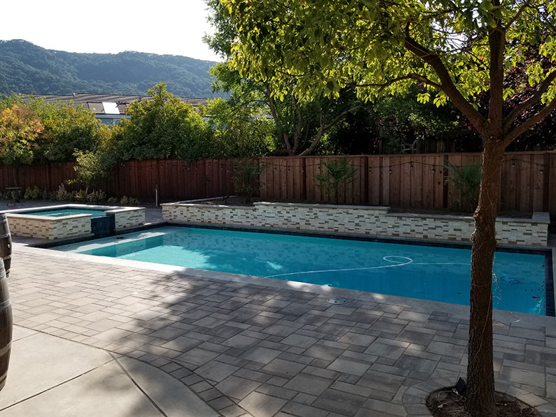 Geometric Pools From Aqua Dream Pools Of Danville California